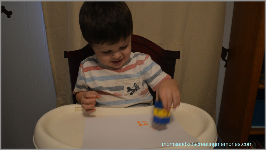S doing Lego Painted Corn
