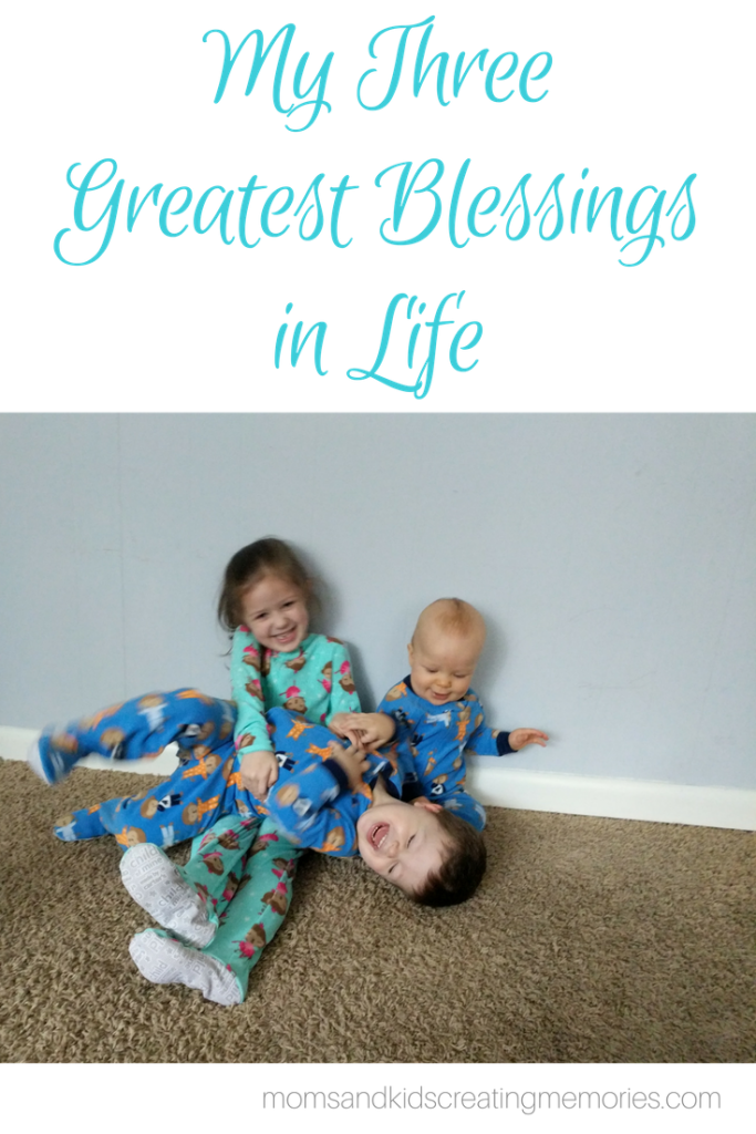 My Three Greatest Blessings in Life - a tickle fight
