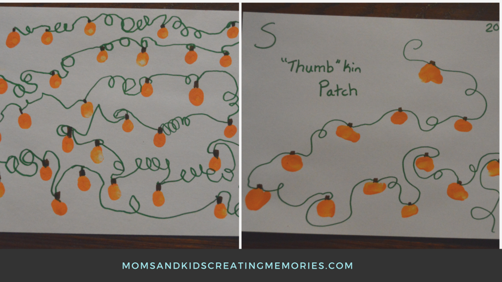 """""""Thumb""""kin Patch Finished Product - A doing her own finishing touches and me doing S's finishing touches"""