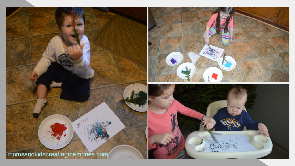 Christmas Tree Painted Ornaments - Each of my kids loved this easy and fun craft