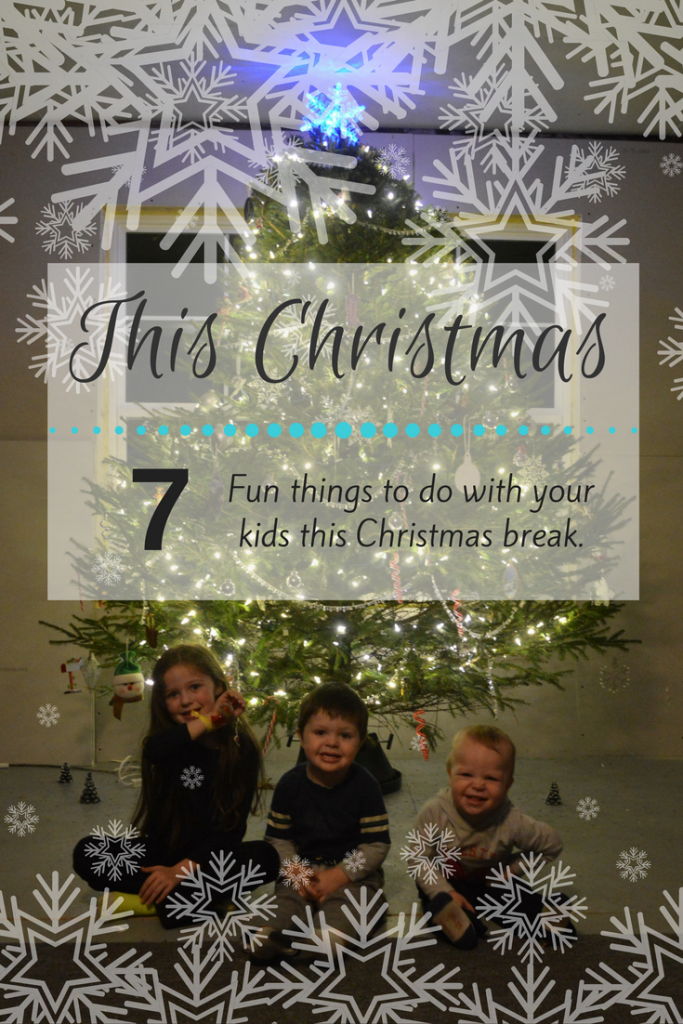 This Christmas - 7 fun things to do with your kids This Christmas break. From science, to crafts, to all around fun there is something for everyone to enjoy! These are kid tested and my kids loved them all!
