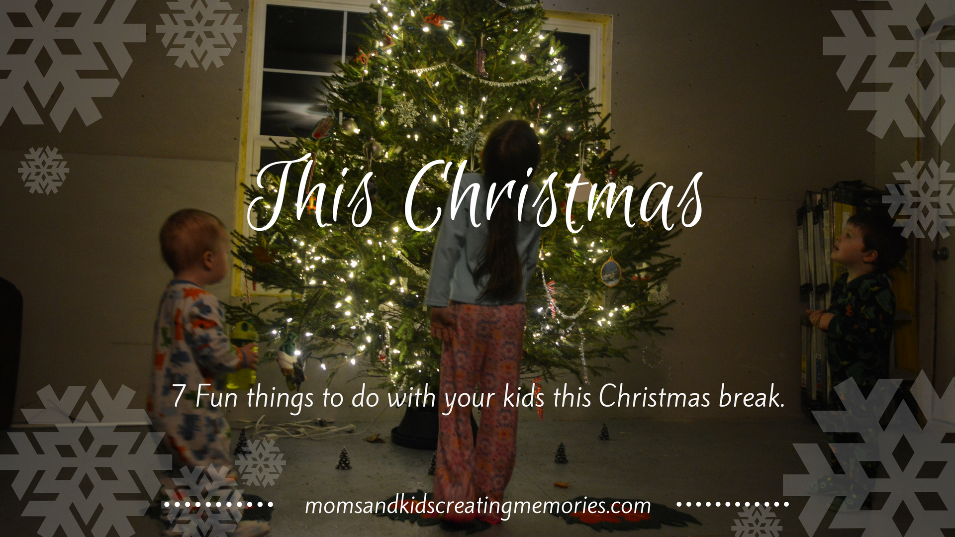 This Christmas - try out one or all of these 7 fun things to do with your kids This Christmas break. My kids tested them all and loved all of them - try them with your kids and I am sure they will enjoy them too!