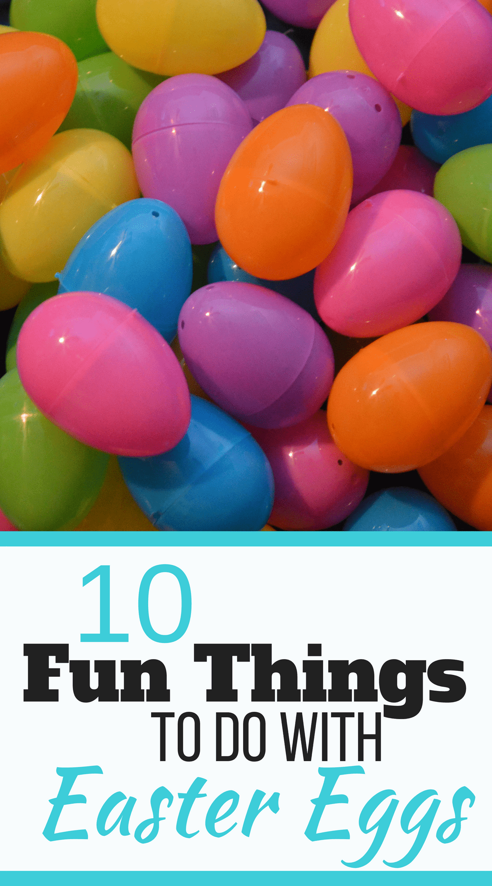 Have Easter eggs around your house? Want to spend a couple bucks and have lots of fun activities for your kids? 10 Fun Things to do with Easter Eggs includes...