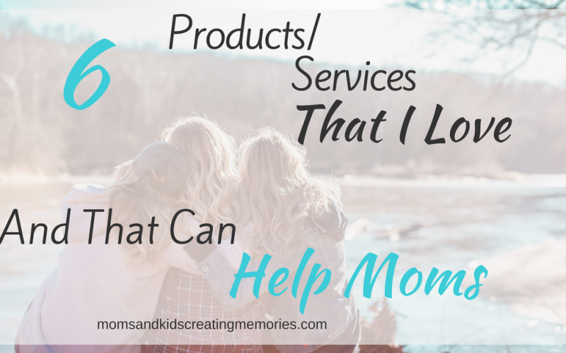 Three Women Hugging by a lake - With text overlay - 6 Products Services That I Love and That Can Help Moms - Photo by Courtney Prather on Unsplash