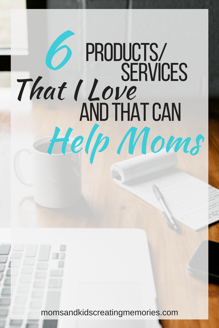 As a Mom do you need some organization, some encouragement and some ways to save time?  Check out these 6 products and services that I love and I am sure can help you too.