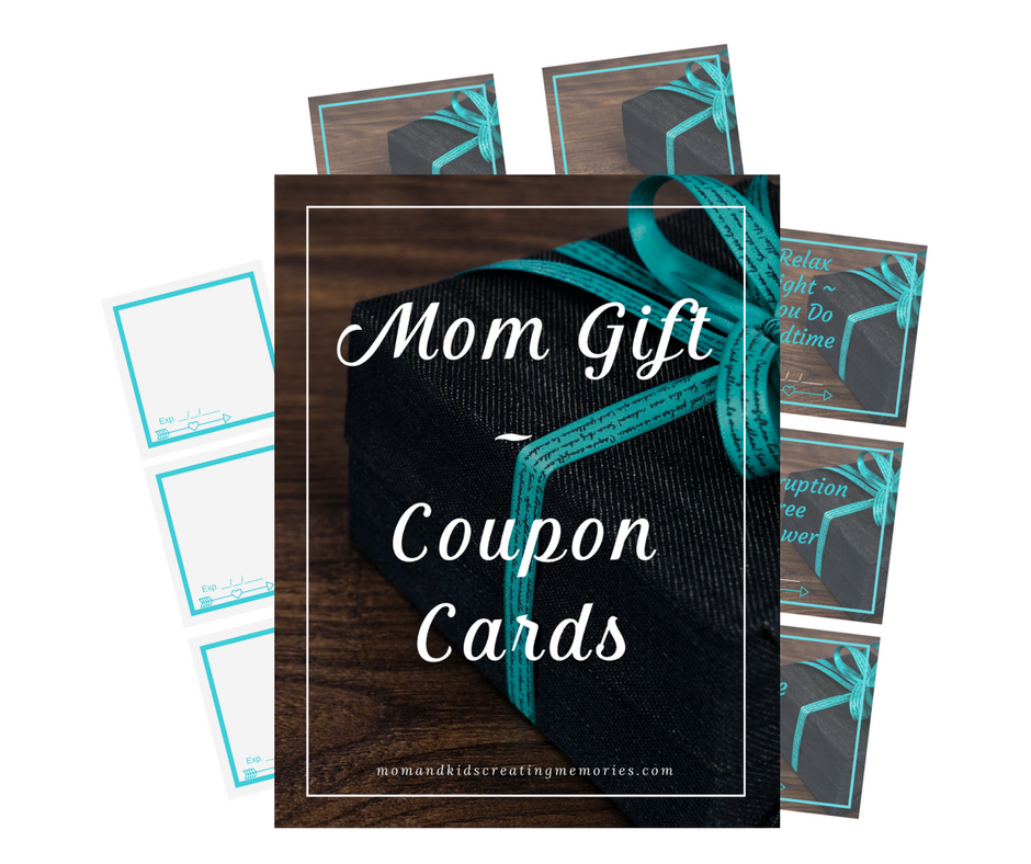 Free Printable - Mom Gift Coupon Cards
