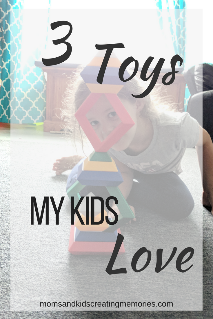My kids have so many toys but these are their favorite and I love them too.  Each of my kids has one that they prefer and they also can learn while playing.  If you want to get some great toys for your kids or have some time to get something done check this out.